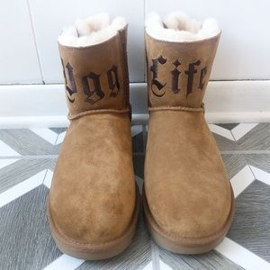 New Jeremy Scott Ugg Life Short Boots